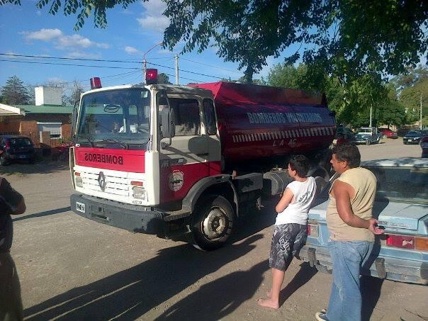 Nuevo camión cisterna para los Bomberos de Monte