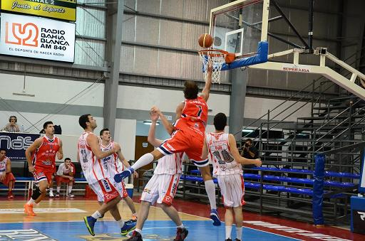 Monte Hermoso Basket imparable de local