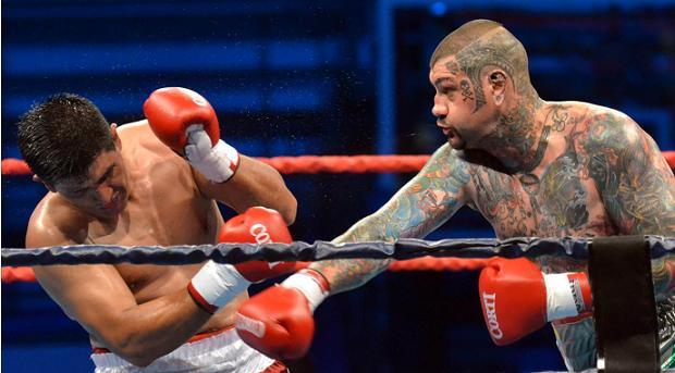 Box mundial en Monte Hermoso