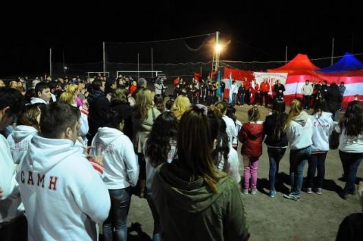 El Atlético Monte Hermoso celebró 60 años inaugurando obras