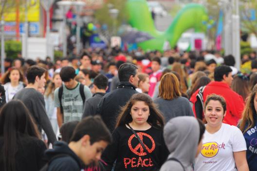 Arranca la XXII Fiesta Nacional de la Primavera