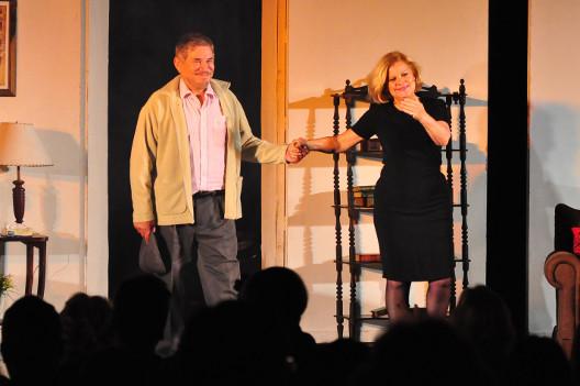 El teatro se disfrutó este fin de semana con Arnaldo André y Marta González