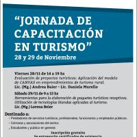 """Nueva """"Jornada de Capacitación en Turismo"""""""