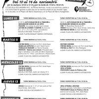 La Secundaria 2 retoma mañana la Semana de las Artes