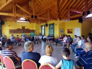 El Intendente se reunió con emprendedores del programa Talleres Familiares